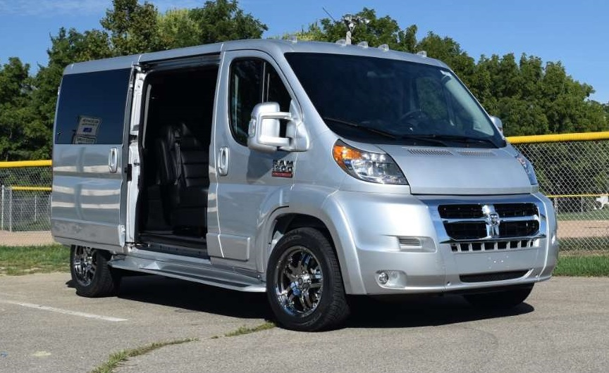 Dodge Conversion Van >> Ram Promaster Conversion Vans