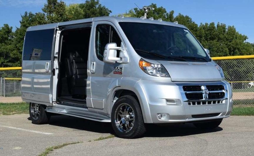 ram promaster conversion vans inventory video info. Black Bedroom Furniture Sets. Home Design Ideas