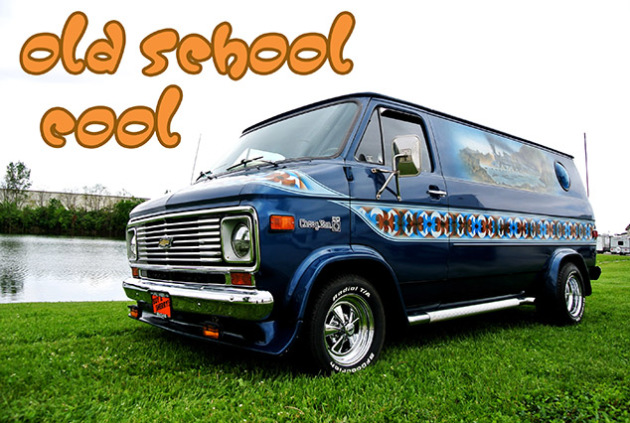 Old School Cool: 1977 Chevrolet Hop Cap Van Tastic Conversion Van