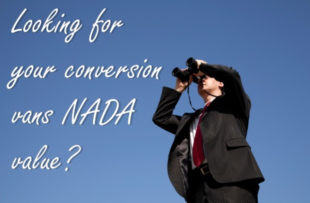 What Happened To NADA for Conversion Vans?