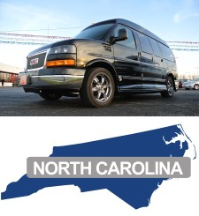 Looking for conversion vans for sale near you in North Carolina? |