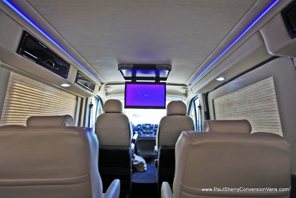 Low Top Conversion Vans: RAM ProMaster vs Chevy Express ...