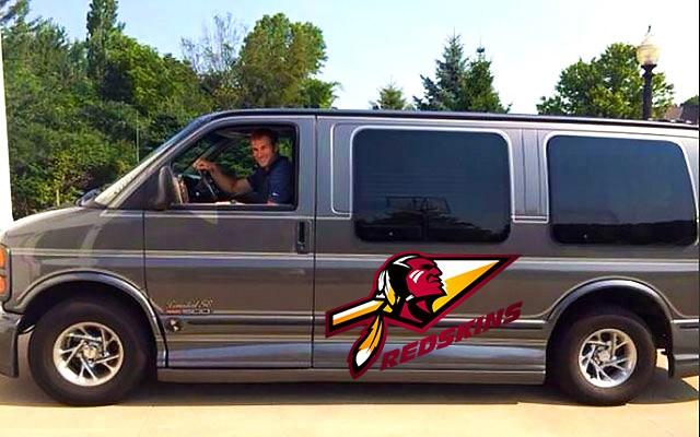 Kirk Cousins Conversion Van
