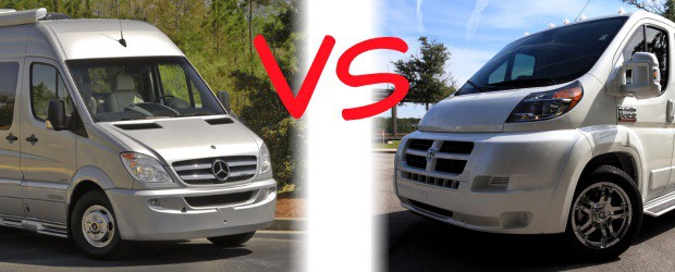 Mercedes Benz Sprinter Conversion Van Vs Ram ProMaster