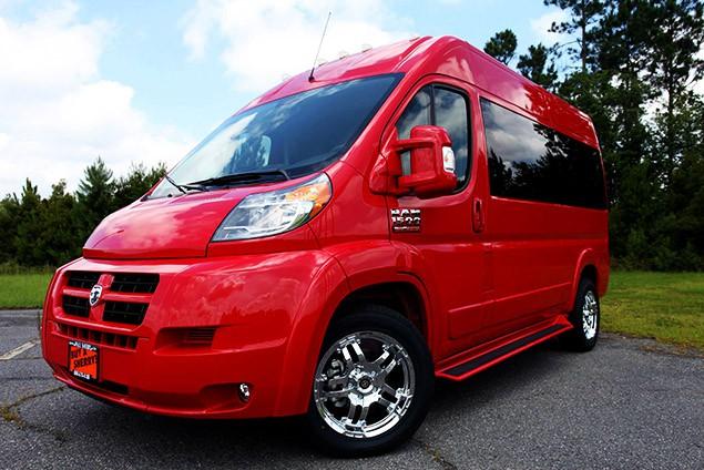 dodge promaster new used conversion vans for sale paul sherry conversion vans. Black Bedroom Furniture Sets. Home Design Ideas