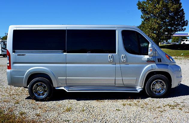 ram promaster passenger vans now for sale new used conversion vans for sale paul sherry. Black Bedroom Furniture Sets. Home Design Ideas