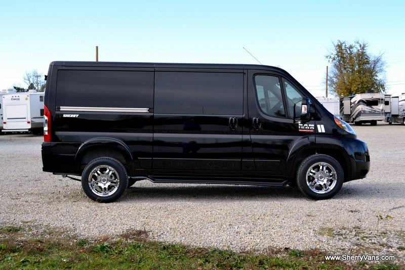paul sherry conversion vans ram promaster used autos weblog. Black Bedroom Furniture Sets. Home Design Ideas
