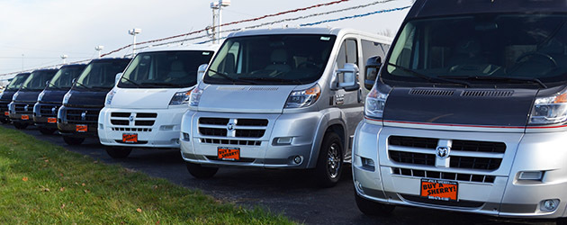 Check Out the Excellent Selection at Paul Sherry Conversion Vans in Ohio
