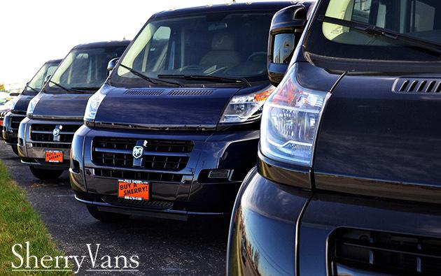 RAM ProMaster Diesel Conversion Vans