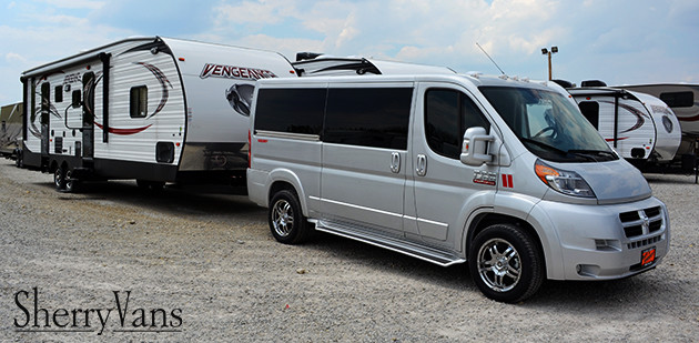 How Much Will The RAM ProMaster Tow?