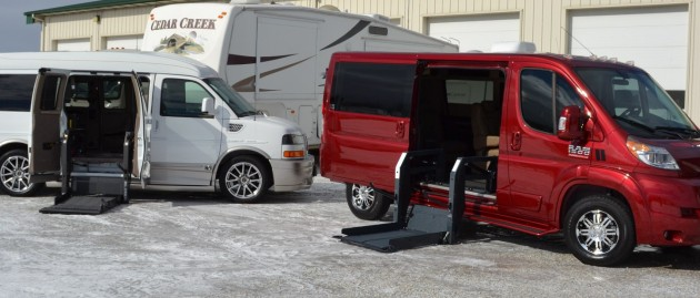Types of Wheelchair Lifts for the RAM ProMaster