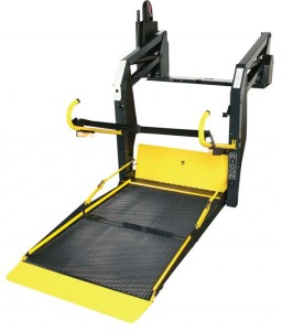 Ricon K-Series KlearVue Wheelchair Van Lift
