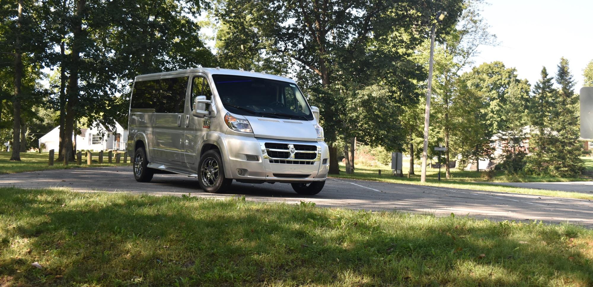 New Ram Promaster Conversion Vans