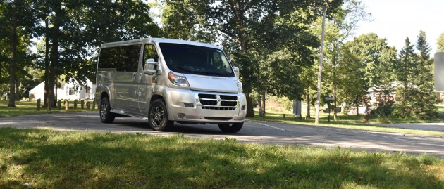 Updates and Changes for the 2017 RAM ProMaster Conversion Van Chassis