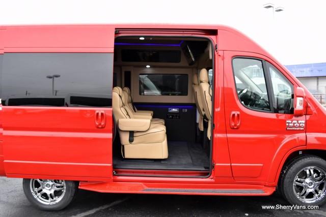 2017 Ram ProMaster Sherry Vans 7 Passenger