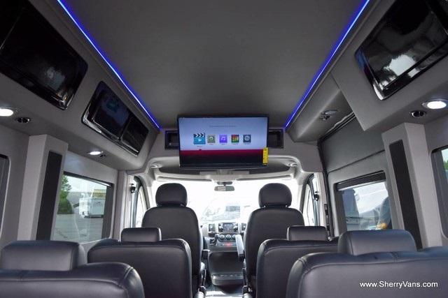 8 passenger van interior