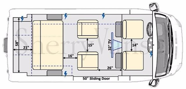 ram 7 passenger conversion van floor plan