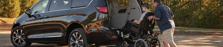 chrysler pacifica hybrid REV mobility van