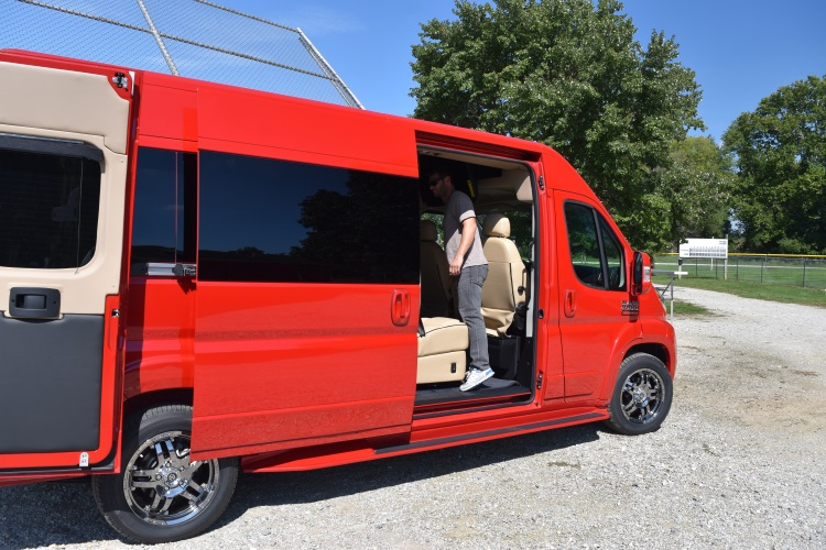 2019 new conversion van