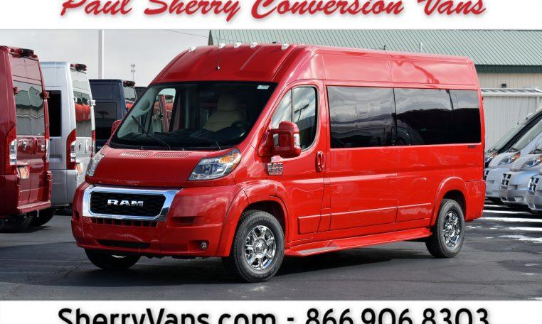 f049cc1d78 2019 Ram ProMaster – Sherry Vans 9 Passenger