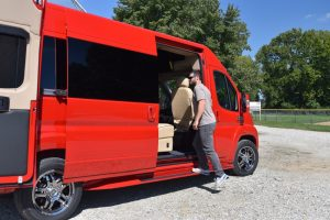Paul Sherry's Conversion Van Blog