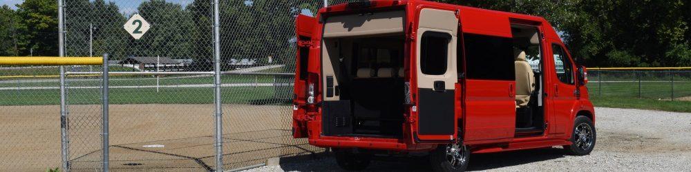 conversion vans used