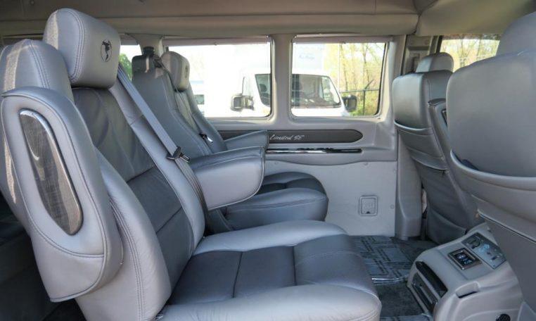 2017 Chevrolet Conversion Van Explorer Vans 7 Passenger Cp16150t Conversion Vans For Sale At Paul Sherry Conversion Vans