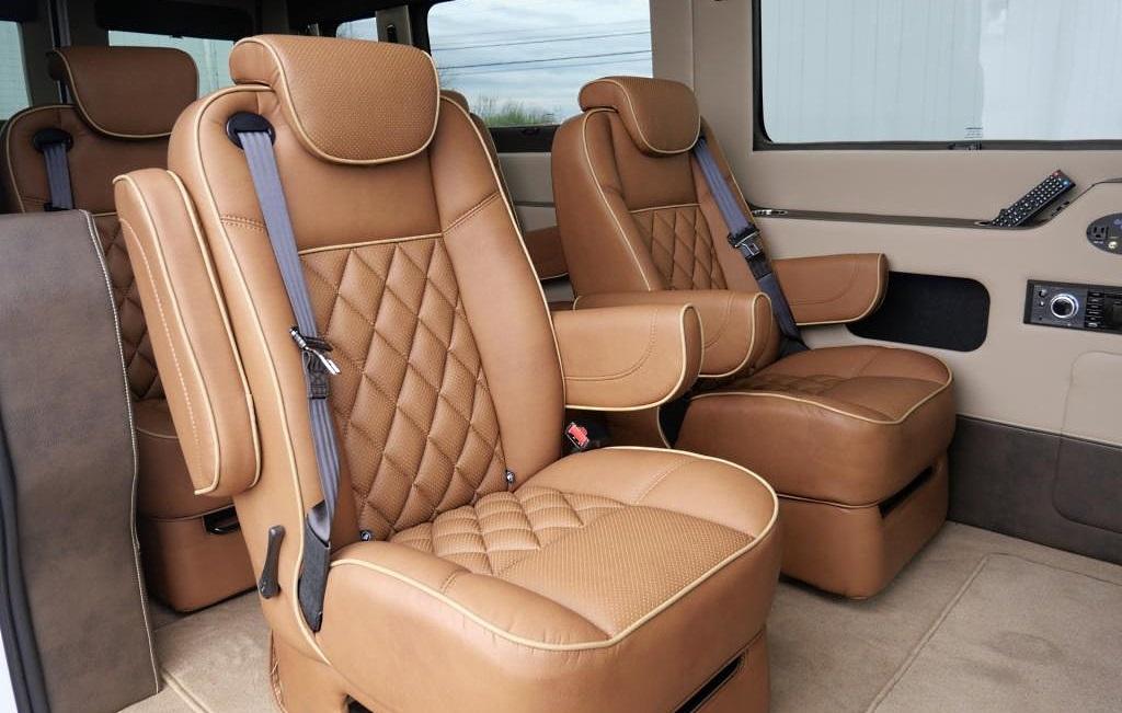 luxury van for sale