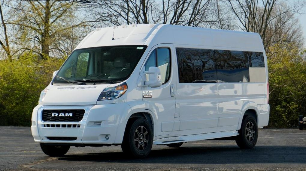 new luxury van