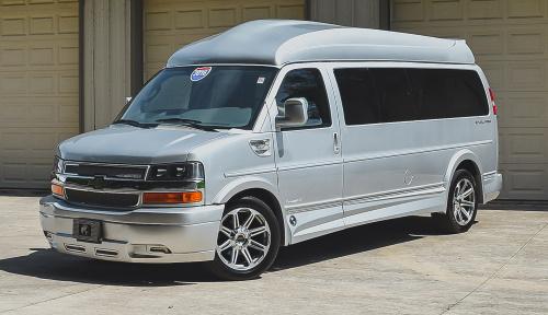 conversion van delivery