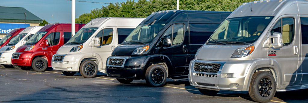 new conversion vans still made