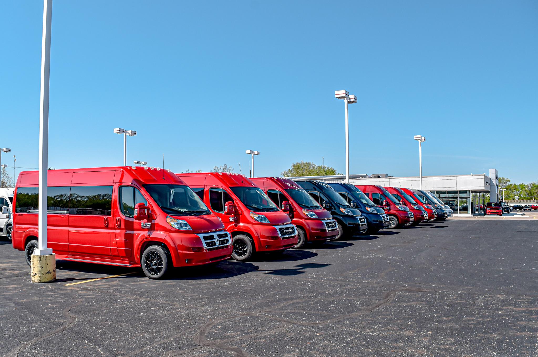 used custom vans